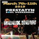 Prestatyn Weekender – March 7th – 11th 2019
