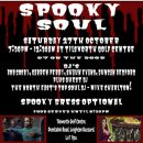 Spooky Soul – Tilsworth Golf Centre – Saturday October 27th 2018 – 7.30pm – 12.30am