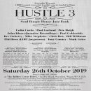 Hustle ! – Saturday October 26th 2019