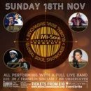 Global Soul Showcase – Cornell Carter, Agapesoul, Rose Vincent & L Young LIVE IN CONCERT – 7.00pm Sunday 18th November 2018