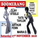 Boomerang – Thorne – Saturday 17th November – 8.00pm – 1.00am