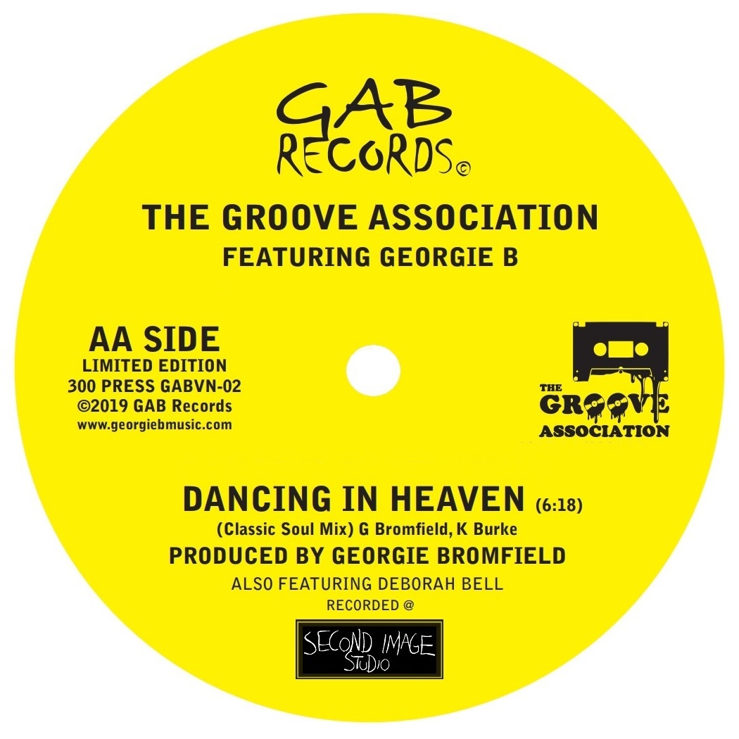 The Groove Association featuring Georgie B - Fly Away / Dancing In Heaven  (Classic Soul Mix) - 7