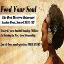 Feed Your Soul – Sunday Chillout – Sunday 3rd May 2020 – 2.00pm – 8.00pm